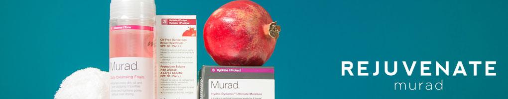 Rejuvenate skin care Murad