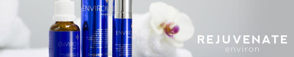 Rejuvenate skin care Environ